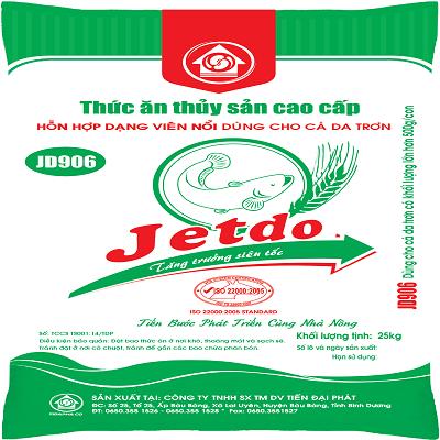 Thức ăn cho cá JD906