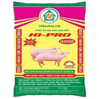 Thức ăn cho heo H2500