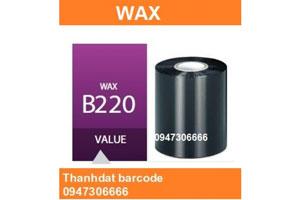 Mực in mã vạch Wax - B220