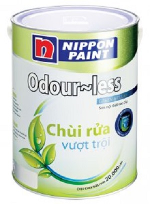 Sơn nội thất Nippon Odour Less