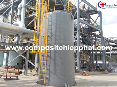 Bồn composite chứa hóa chất H2SO4