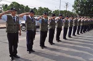 Dịch vụ huấn luyện nhân viên bảo vệ