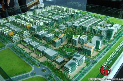 Mô hình kiến trúc khu công nghệ cao Mapletree