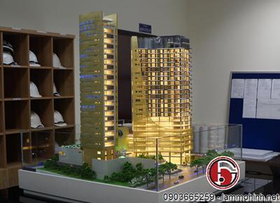 Mô hình kiến trúc khách sạn Hilton - Đà Nẵng
