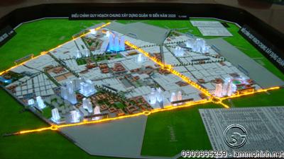 Mô hình quy hoạch Quận 10 HCMC
