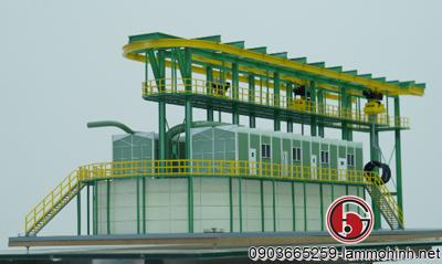 Mô hình kiến trúc dây chuyền sản xuất thép cuộn
