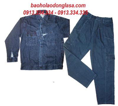 Quần áo jeans thợ hàn