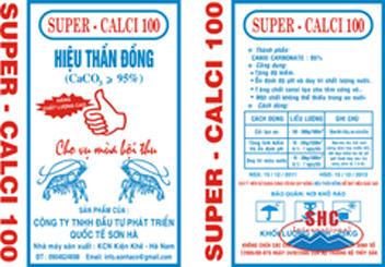 Bột đá vôi Super Calci
