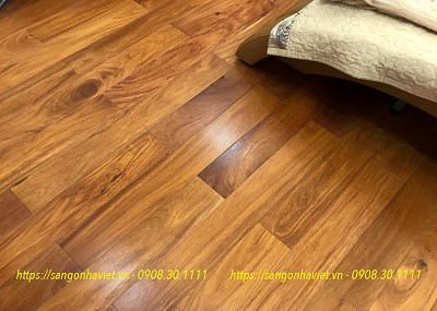 Sàn gỗ Gõ Nam Phi 18*120*900mm
