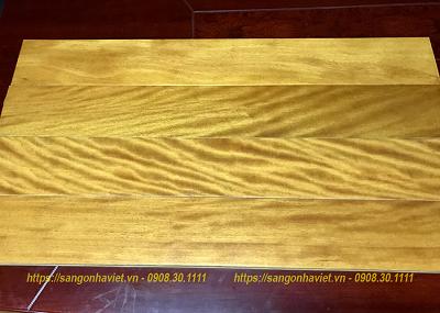 Sàn gỗ Gõ Vàng 18*120*600mm