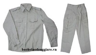Quần áo bảo hộ màu ghi