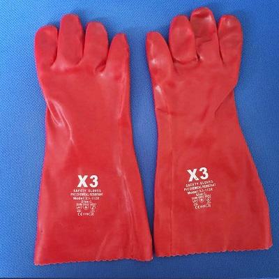Găng tay bảo hộ chống axit X3-112R