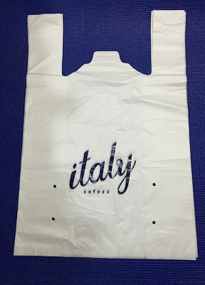 Túi nhựa shopping bag, t-shirt plastic bag