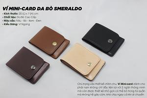 Bóp Da Mini - Card Smeraldo