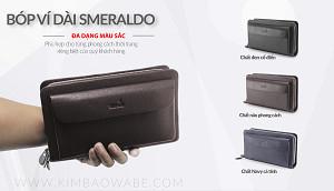 Bóp Dài Da Bò Ý Smeraldo SM213