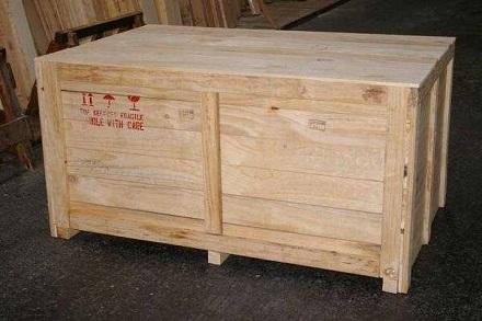 Thùng gỗ ghép thanh