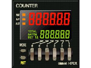 Bộ đếm đa năng H7CX, H7BX