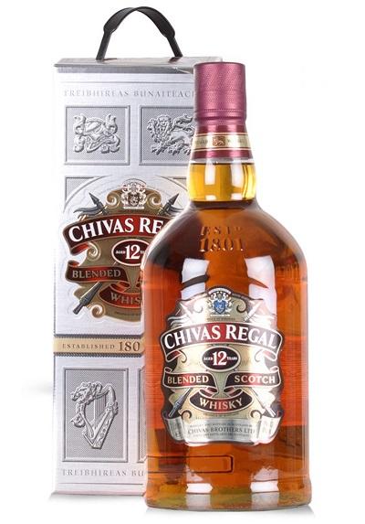 Rượu Chivas Regal 12 YO 1000 ml