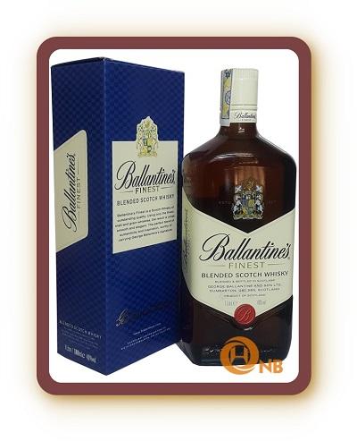 Rượu Ballantines Finest 1L và 2L