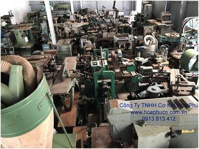 Máy chế biến gỗ đã qua sử dụng