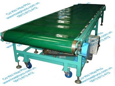 Băng tải PVC tự động