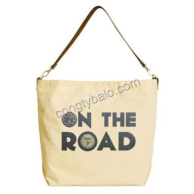 Túi xách vải bố Cavas