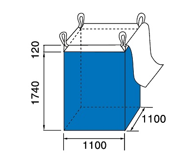 Bao Jumbo vuông QTP-1100
