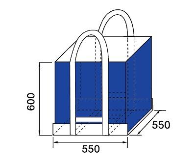 Bao Jumbo vuông QTP-550