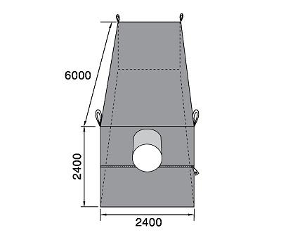Bao container QTP 6000