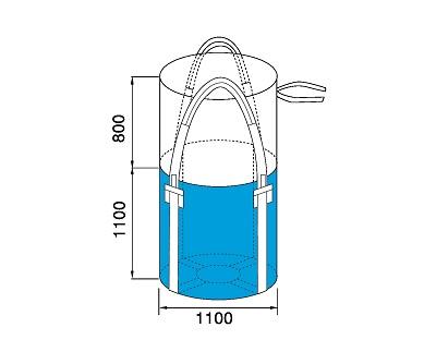 Bao Jumbo ống QTP-1100-4