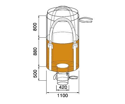 Bao Jumbo ống QTP-1100-2