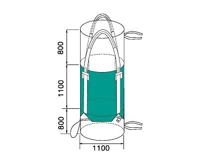 Bao Jumbo ống QTP-1100-5