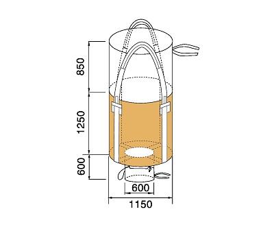 Bao Jumbo ống QTP-1150