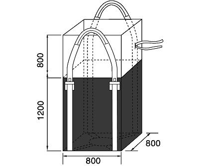 Bao Jumbo vuông QTP-800
