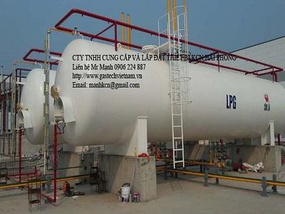 Lắp đặt trạm chiết nạp LPG