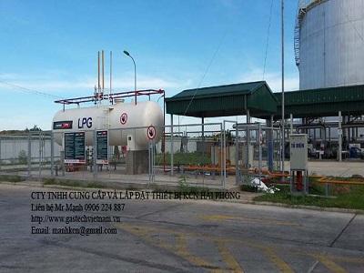 Lắp đặt trạm LPG 40 tấn