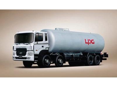 Cấp hàng LPG bằng xe bồn