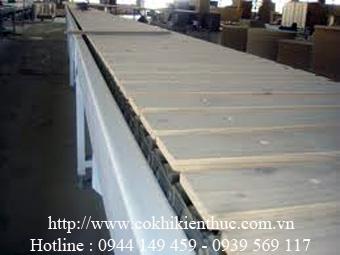 Hệ thống băng tải gỗ