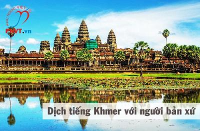 Dịch tiếng Khmer với người bản xứ