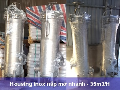 Micro filter housing