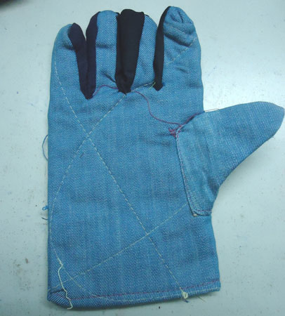 Bao tay vải Jean