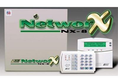 Trung tâm chống trộm kiêm báo cháy NetworX NX8