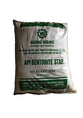 Bentonite khoan cọc nhồi API Bentonite star