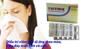 Fastdine: Điều Trị Triệu Chứng Viêm Mũi Dị Ứng Theo Mùa