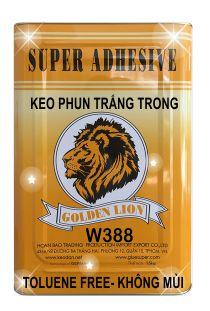 Keo phun dán nệm W388