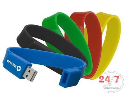 USB vòng đeo tay silicon 04