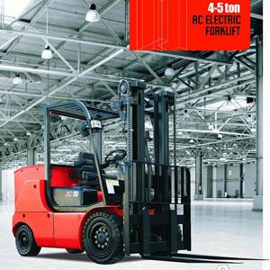 Xe nâng điện Heli 4 đến 5 tấn
