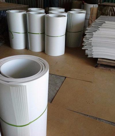 Ván nhựa PVC trắng đục 0.9x1mx2m