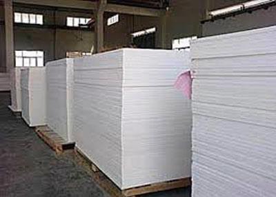 Ván nhựa PVC trắng đục 200x080x2,4