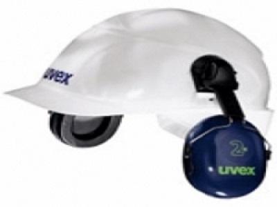 Chụp tai gắn nón Uvex 2H